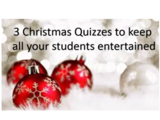 Christmas Quiz Collection (3 engaging quizzes for 2) -Massive Saving of 41% - 2017 SALE