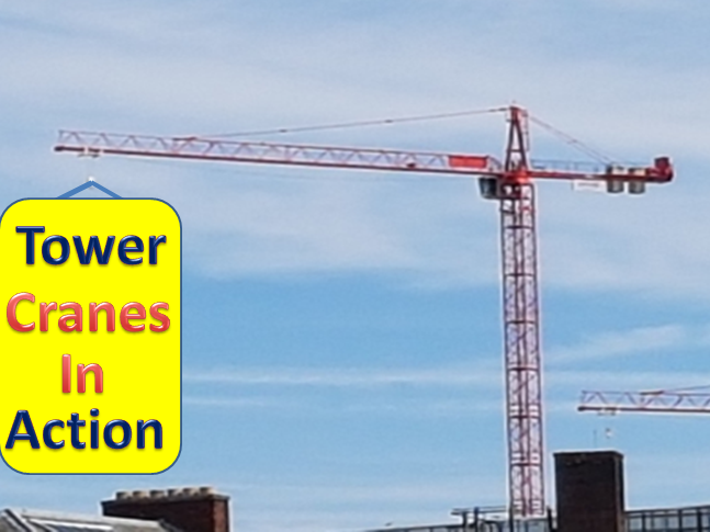 Principle of Moments - Tower Cranes