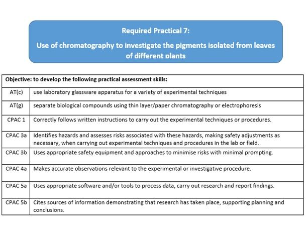 AQA A Level Biology Required Practical 7