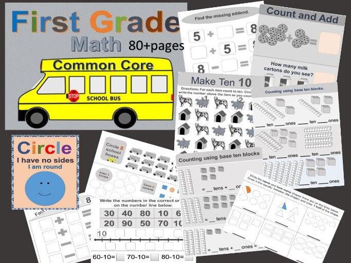 First Grade Math Common Core