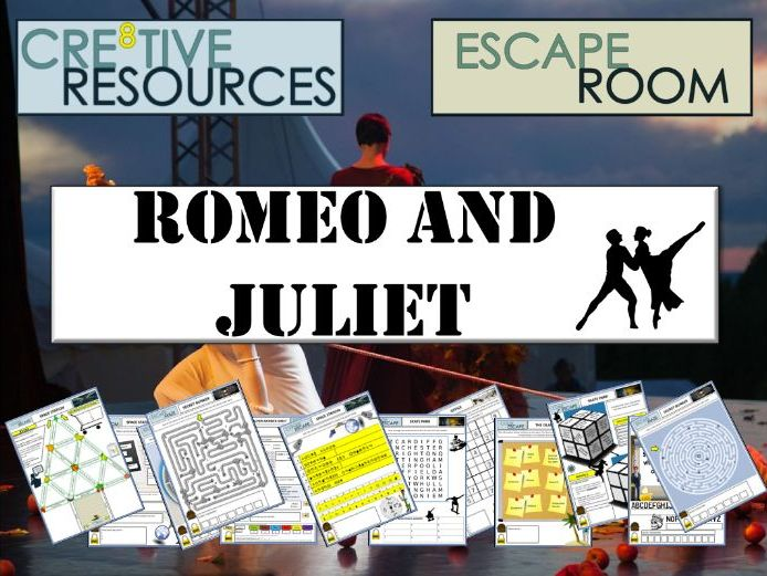 Romeo and Juliet Escape Room - End of Year
