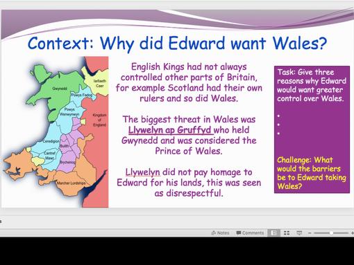 Edward Longshanks and Wales