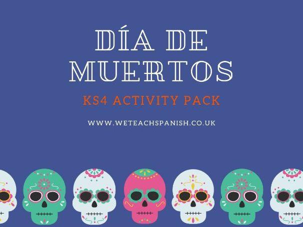 Día de Muertos KS4 Activity Pack