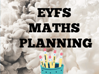 EYFS Math's Planning - 2D and 3D shape