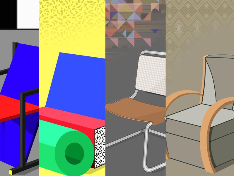 Design Movements - Chair Comparisons