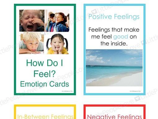 How Do I Feel? Emotions Card Set