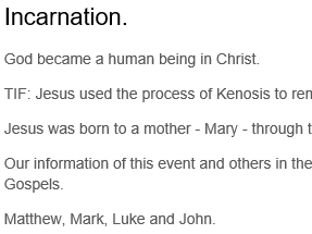 Christian beliefs revision
