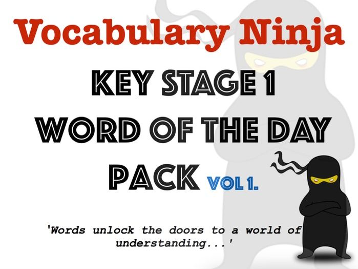 KS1 Word of the Day Pack