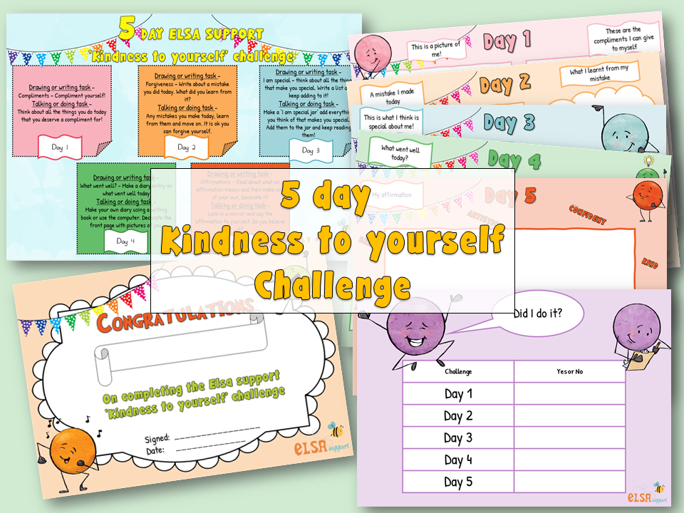 Mental health week - Kindness to yourself
