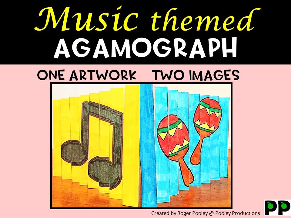 Music Agamograph Art Activity