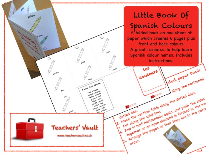 Little Book Of Spanish Colours