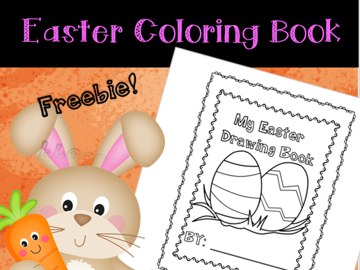 Spring & Easter Coloring Book