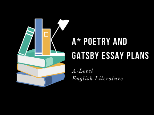 A* POETRY AND GATSBY PLAN: LA BELLE DAME
