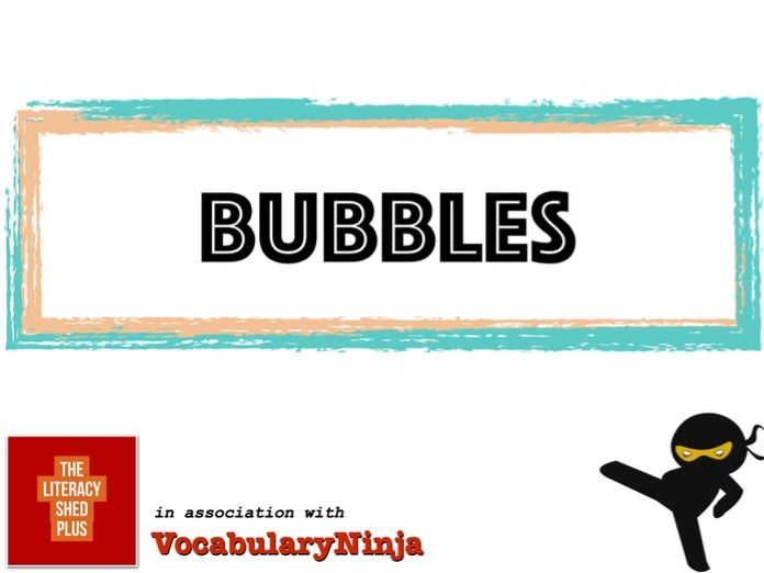 Bubbles Vocabulary Pack