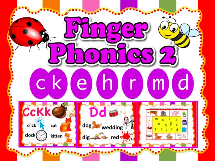 Phonics 2 - ckehrmd - Animated Powerpoint - 21 slides