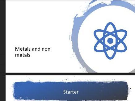 Metals and non-metals lesson