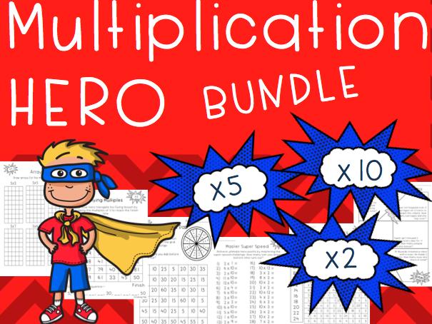 Multiplication HERO Bundle x 2 x5 x10