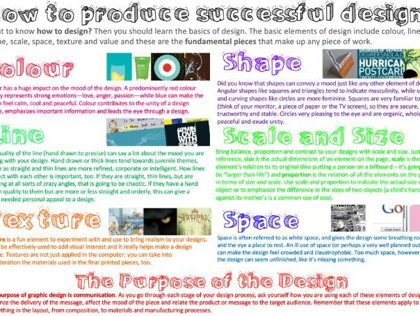 How to create successful designs