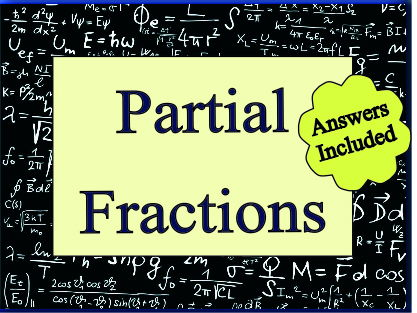 A - Z of Partial Fractions