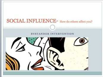GCSE Psychology Edexcel- Social influence (Bystander Intervention)
