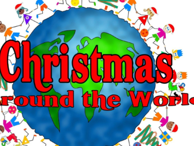 Christmas Around the World- Wordsearch and research quiz ks2-3