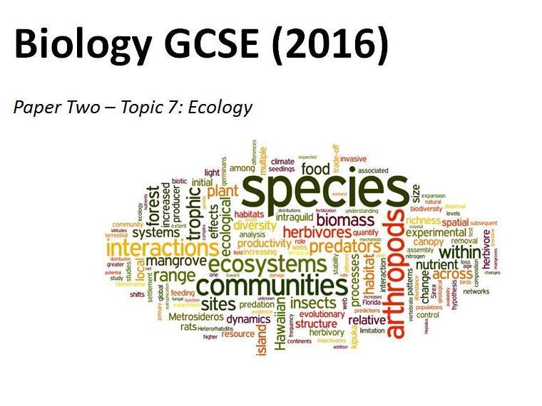 Topics 1-7 workbooks GCSE Biology AQA