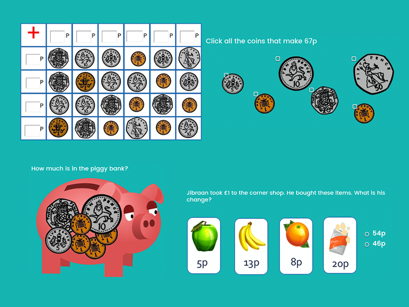 Calculating with Money - Year 3
