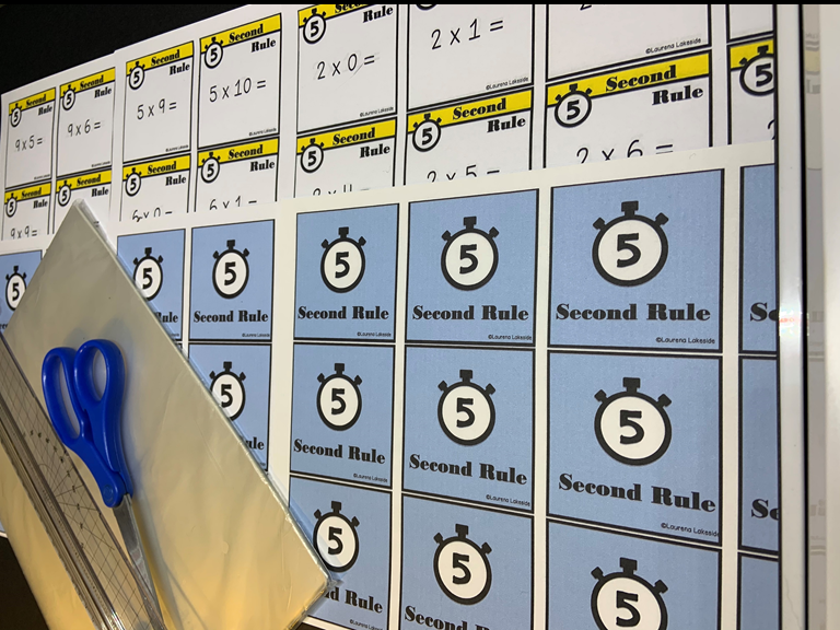 5 Second Rule Times Table Game: Awesome Recap/Revison Game: Competition Game