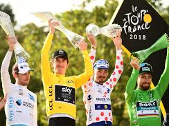 Tour de France - presentational and factual based teaching in French on a stimulating topic.
