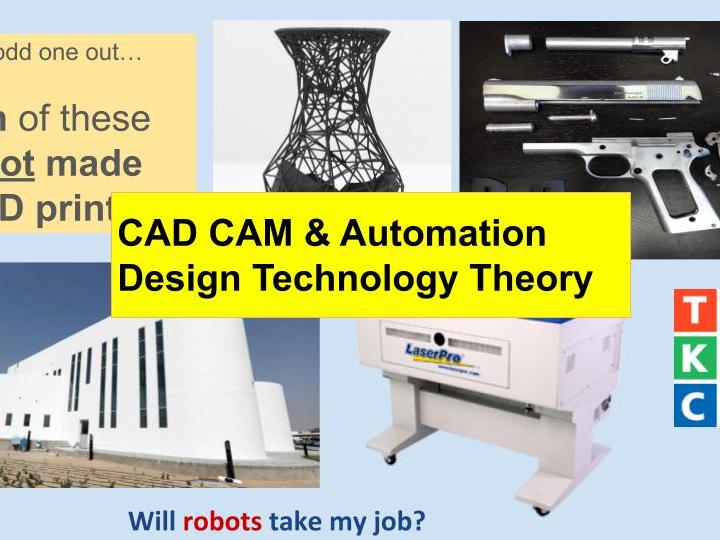 CAD CAM Automation Theory
