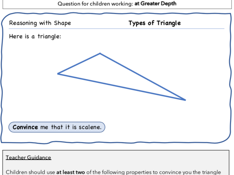 Year 4 Maths: Reasoning with Shape