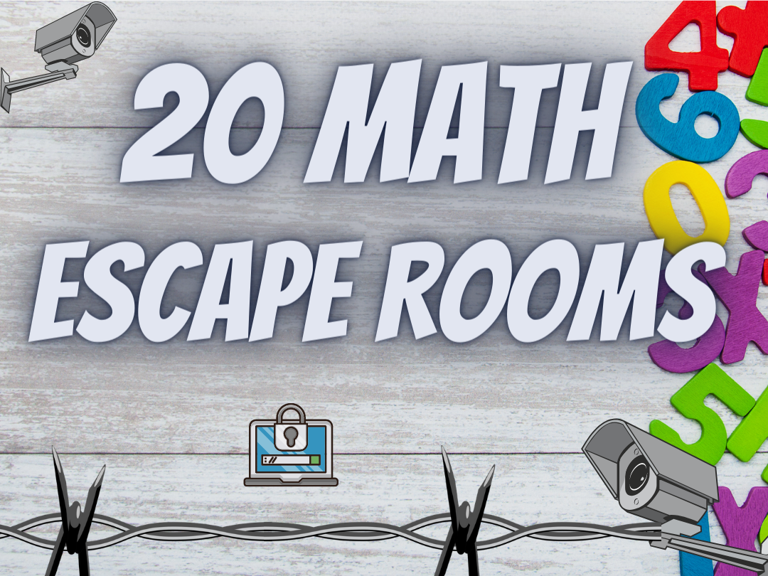 Maths Escape rooms for Secondary