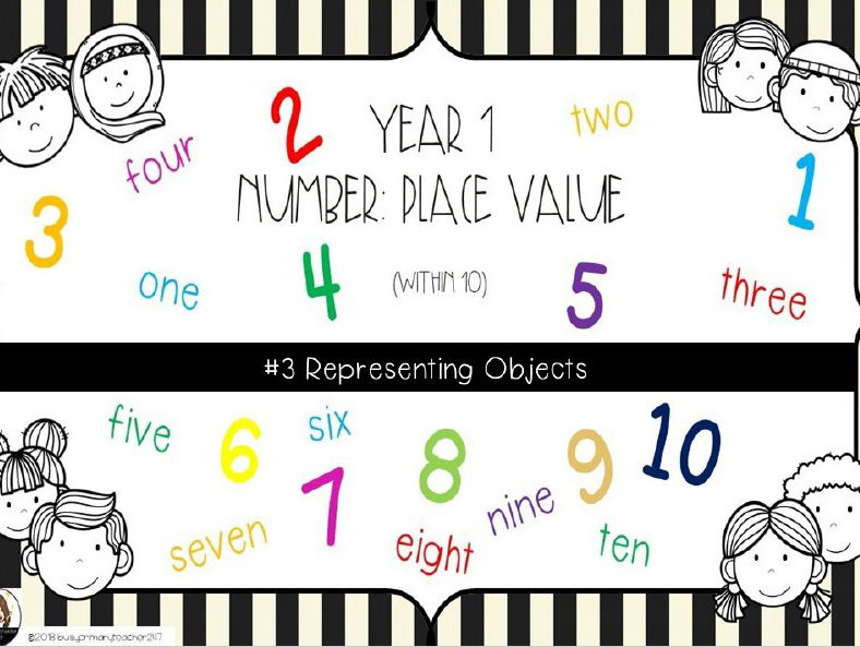 Year 1 - Place Value - Representing Objects