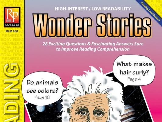 Wonder Stories (Reading Level 3)