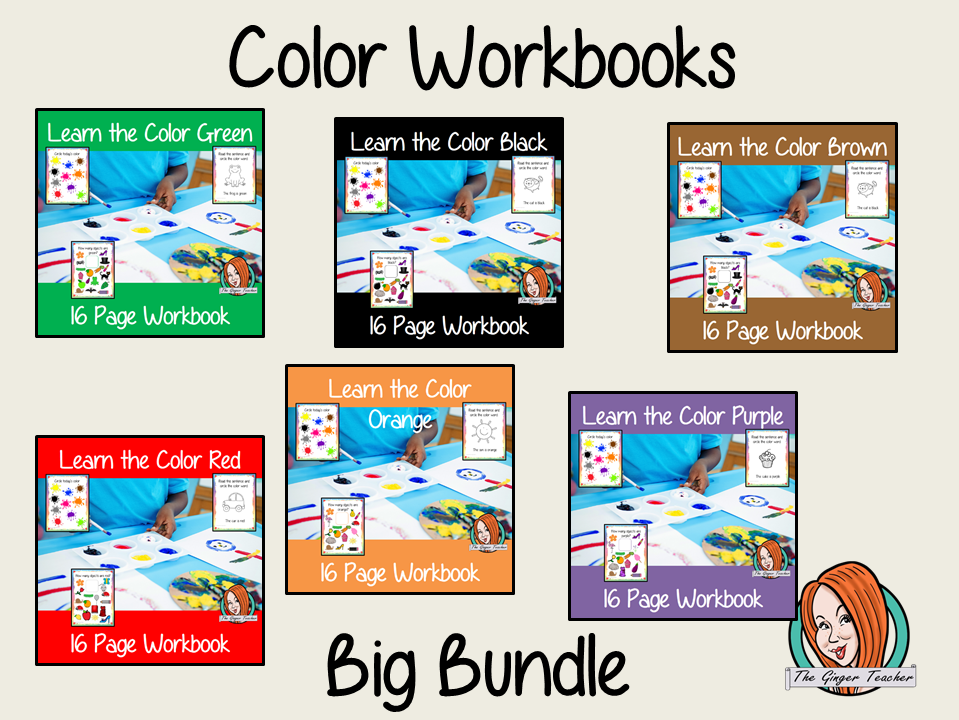 Color Workbook Bundle