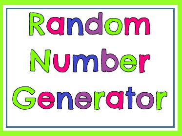 Random Number Generator 1-100 (COLOUR VERSION)