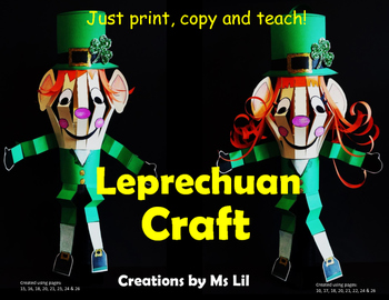 Leprechaun Craft. ::  St. Patrick's Day