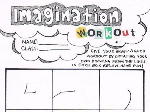 Imagination Workout 1 - Activity Sheet