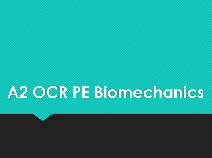 A2 OCR PE- Fluid Mechanics