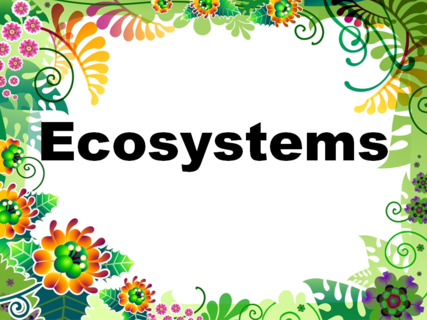 Ecosystems Unit of Work