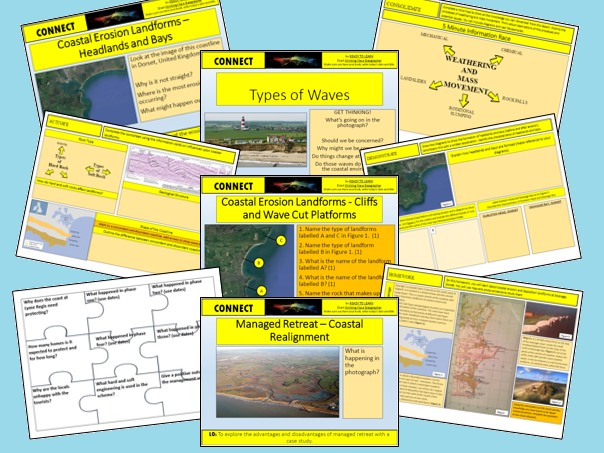 GCSE GEOGRAPHY AQA 9-1 Coastal Landscapes in the UK SoW