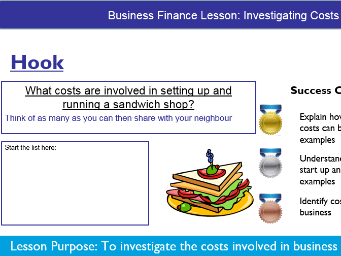 Business: Investigating Costs