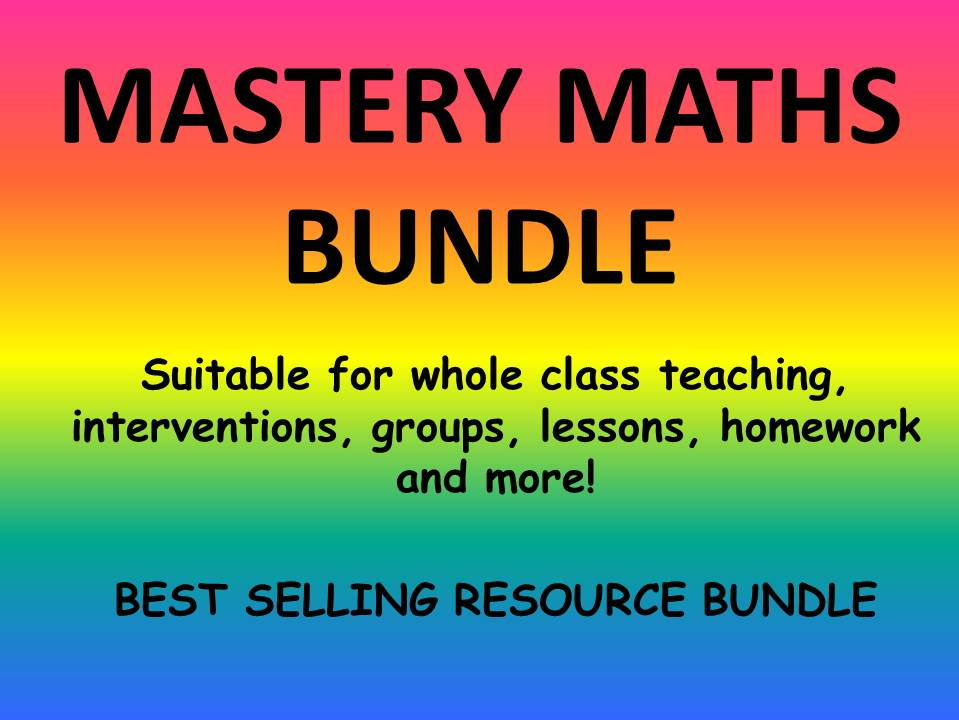 MATHS MASTERY BUNDLE