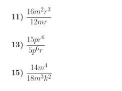 Exponents and division worksheet (with answers)