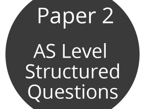 9700 CIE Paper 2 Exam Questions (from 2011) Sortable by Topic From the Current Syllabus