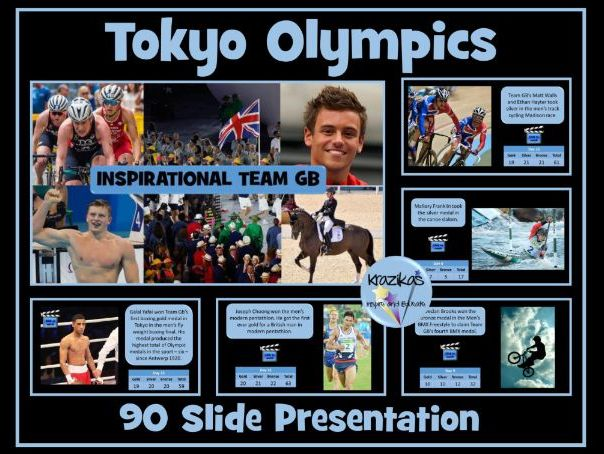 Olympic Games - Tokyo 2020 - Inspirational Team GB