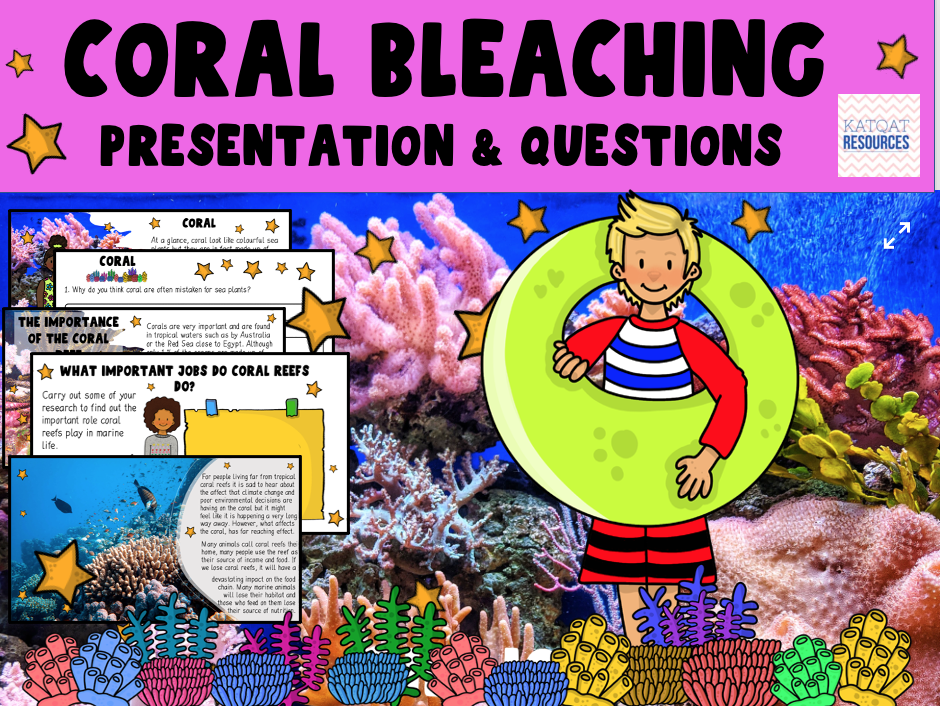 Coral Bleaching - Earth Day - The Coral Reef