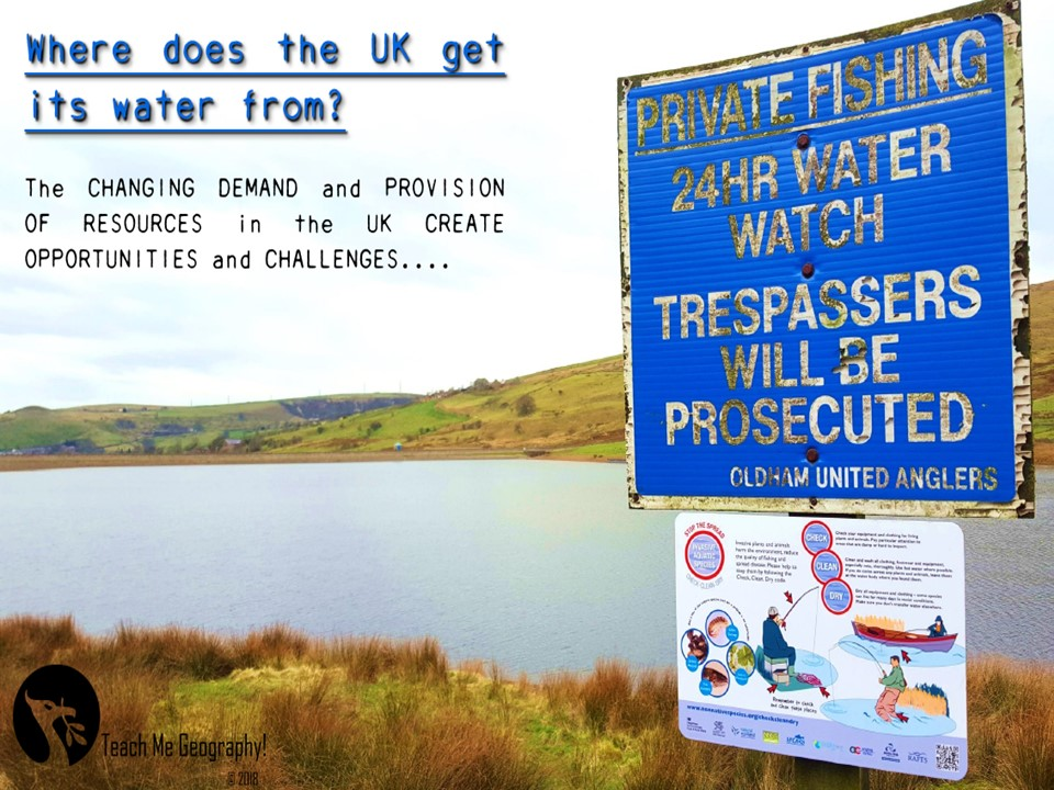 GCSE Geography Case Studies - UK Water Supply Revision