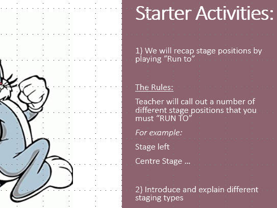 KS3 Staging Configuration Resources