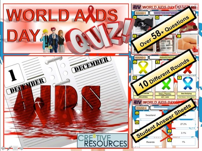 HIV and AIDS by thecre8tiveresources - Teaching Resources - Tes
